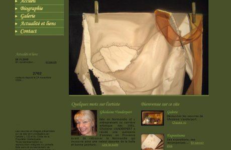 Site Ghislaine Vanderpert