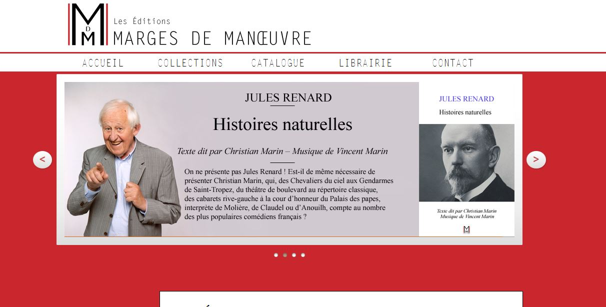 Site Marges de manoeuvre
